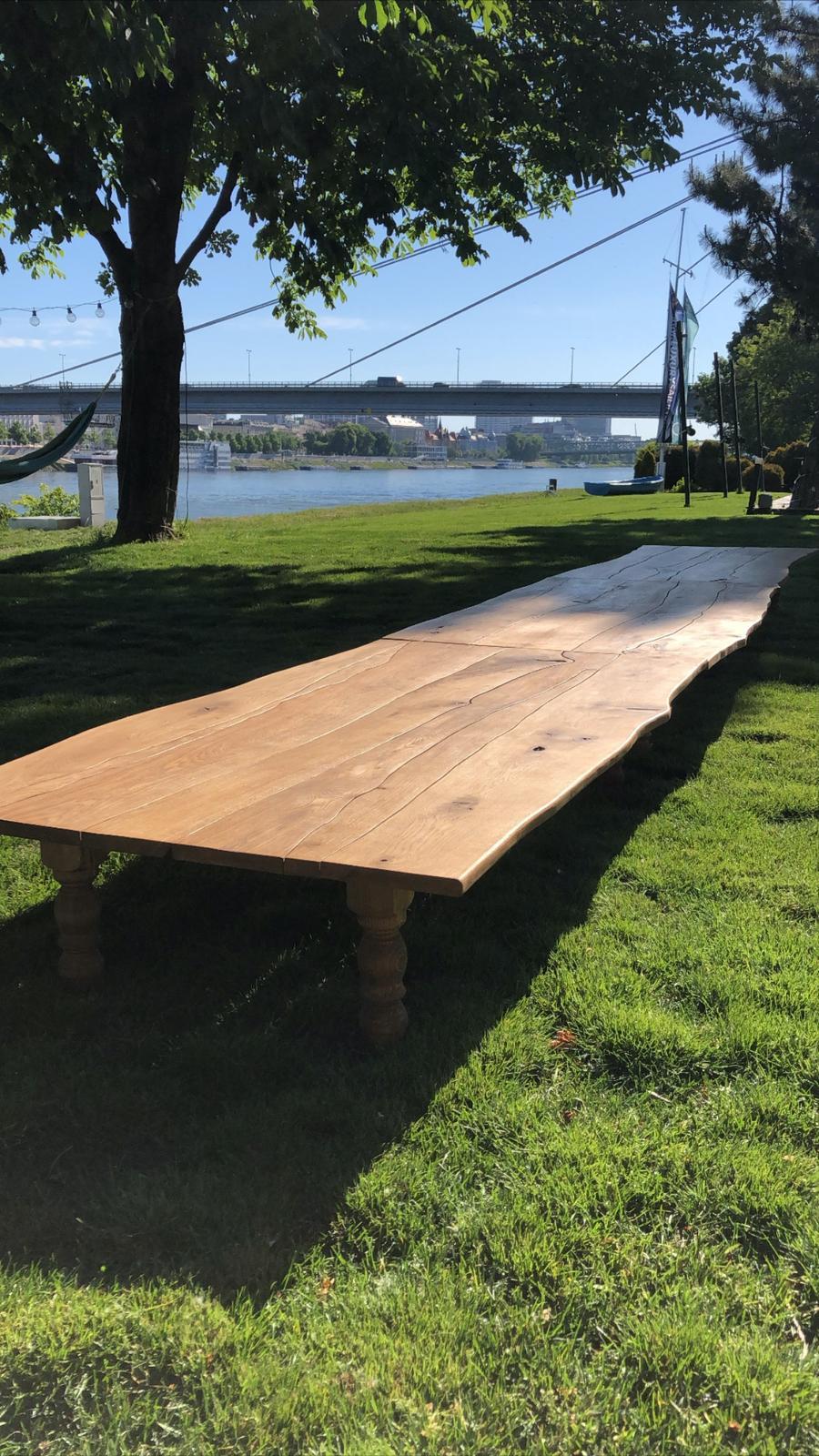 Boho stoly (prenájom) - Obrázok č. 3