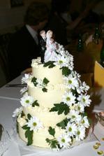 Svatební dortíček