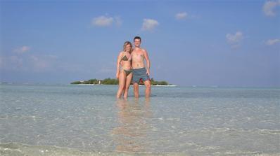 dovolená Maledivy říjen 2009