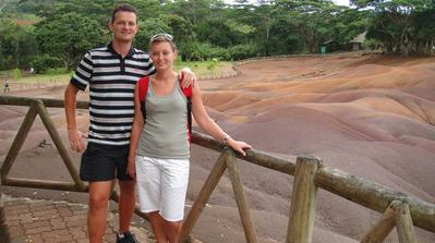 Chamarel - země půdy 7 barev