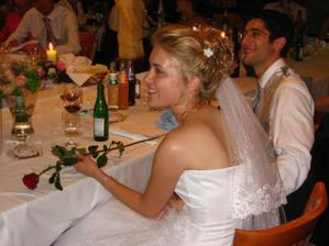 Ceremonia ruzi, velmi dojimave