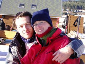 Nasa prva lyzovacka ... ja a moje lepsie ja :-)