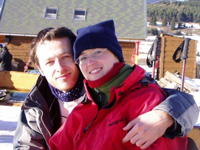 Takze to sme mi dvaja.... - Nasa prva lyzovacka ... ja a moje lepsie ja :-)