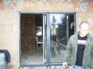 posuvne dvere z terasy do obyvky