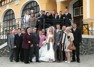 Stateční svatebčané