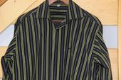 Pánská košile s dlouhým rukávem, 40