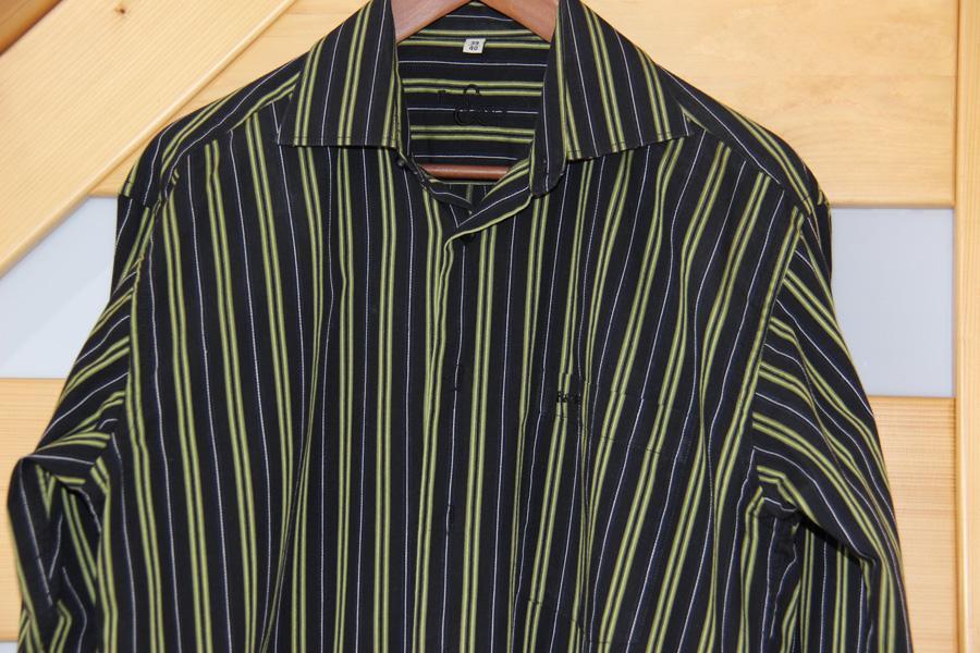 Pánská košile s dlouhým rukávem - Obrázek č. 1