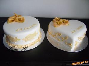 děkovné dortíky :o)
