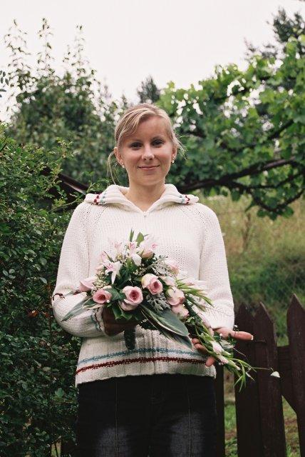 6.8.2005 - detailnejsie - Svadobna kytica