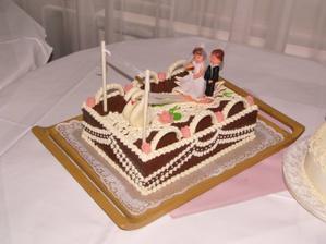 Svadobna torta-pristav