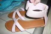 Sandálky nenosené, veľ. 34, vn.dl. 21,5cm, 34