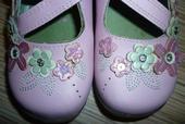 Ružové slávnostné topánočky, veľ.27, 27