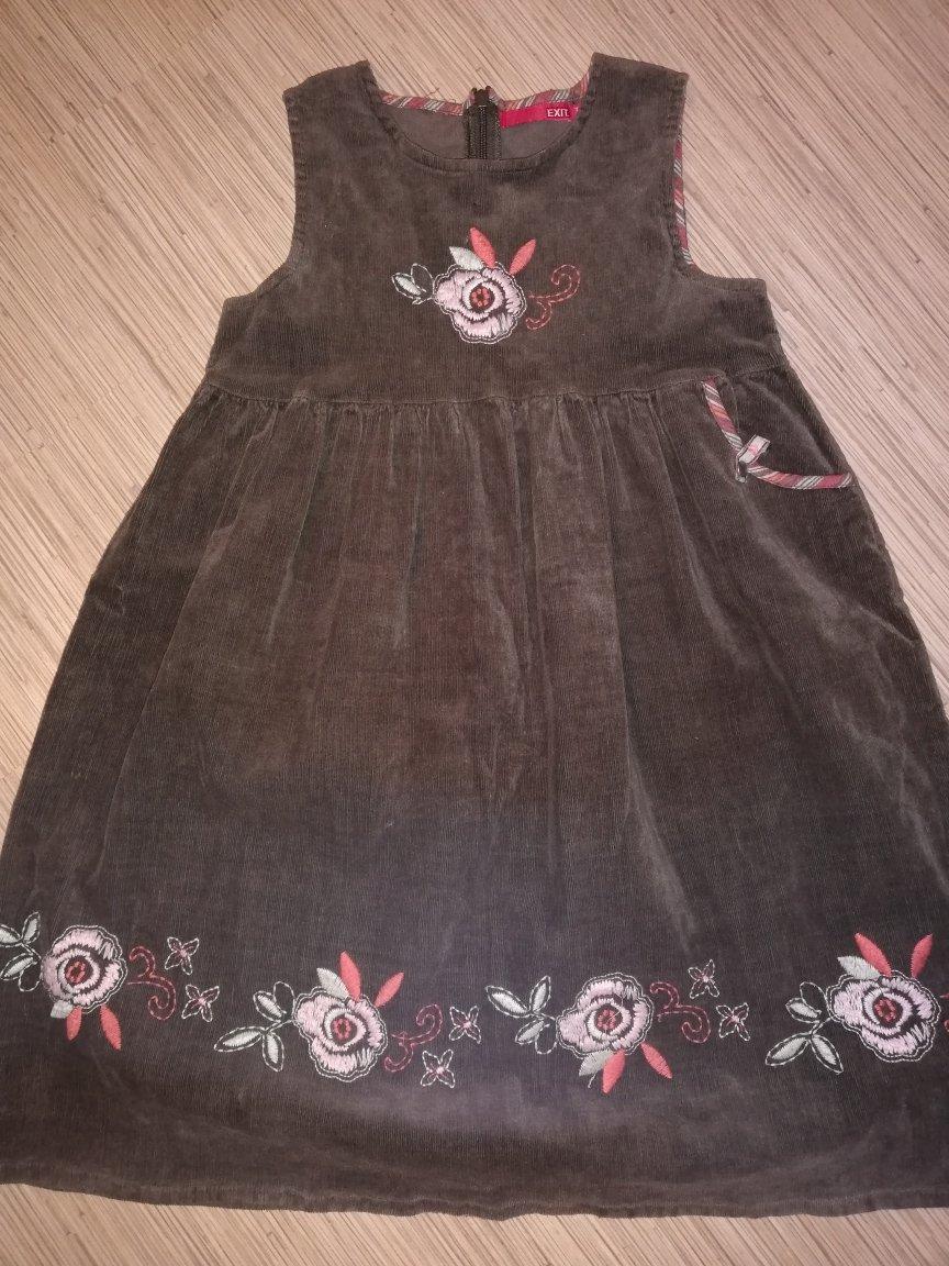 Šatová sukňa aj s výšivkami, veľ. 122 - Obrázok č. 1
