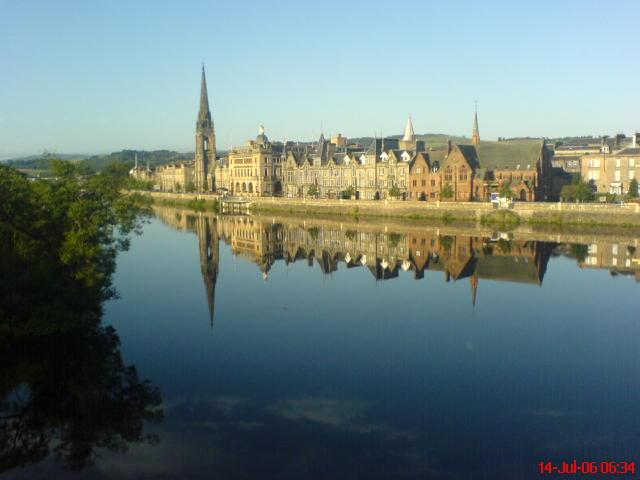 Nas svadobny sen - Miesto spoznania-Perth v Skotsku