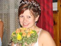 Štastná nevěsta:)