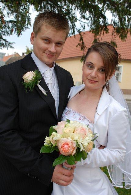 Katarína Krchnavá{{_AND_}}Marián Vach - novomanželia
