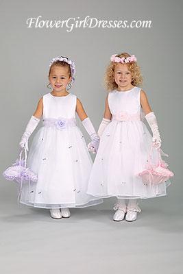 Moja fialova svadba - Pre moje flowergirl - Klaudiku a Emku