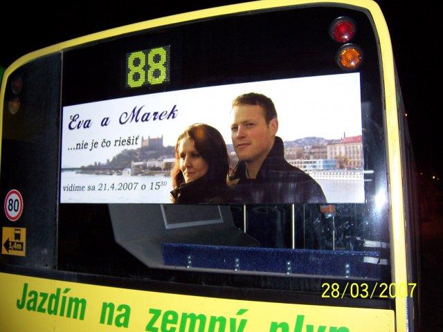 Eva Nováková{{_AND_}}Marek Klobušník - Svadobné Oznámenie