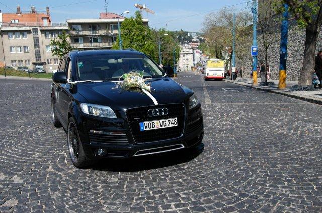 Eva Nováková{{_AND_}}Marek Klobušník - naše auto