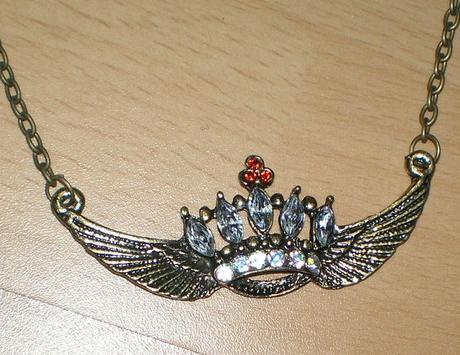 náhrdelník so štrasom - Obrázok č. 1