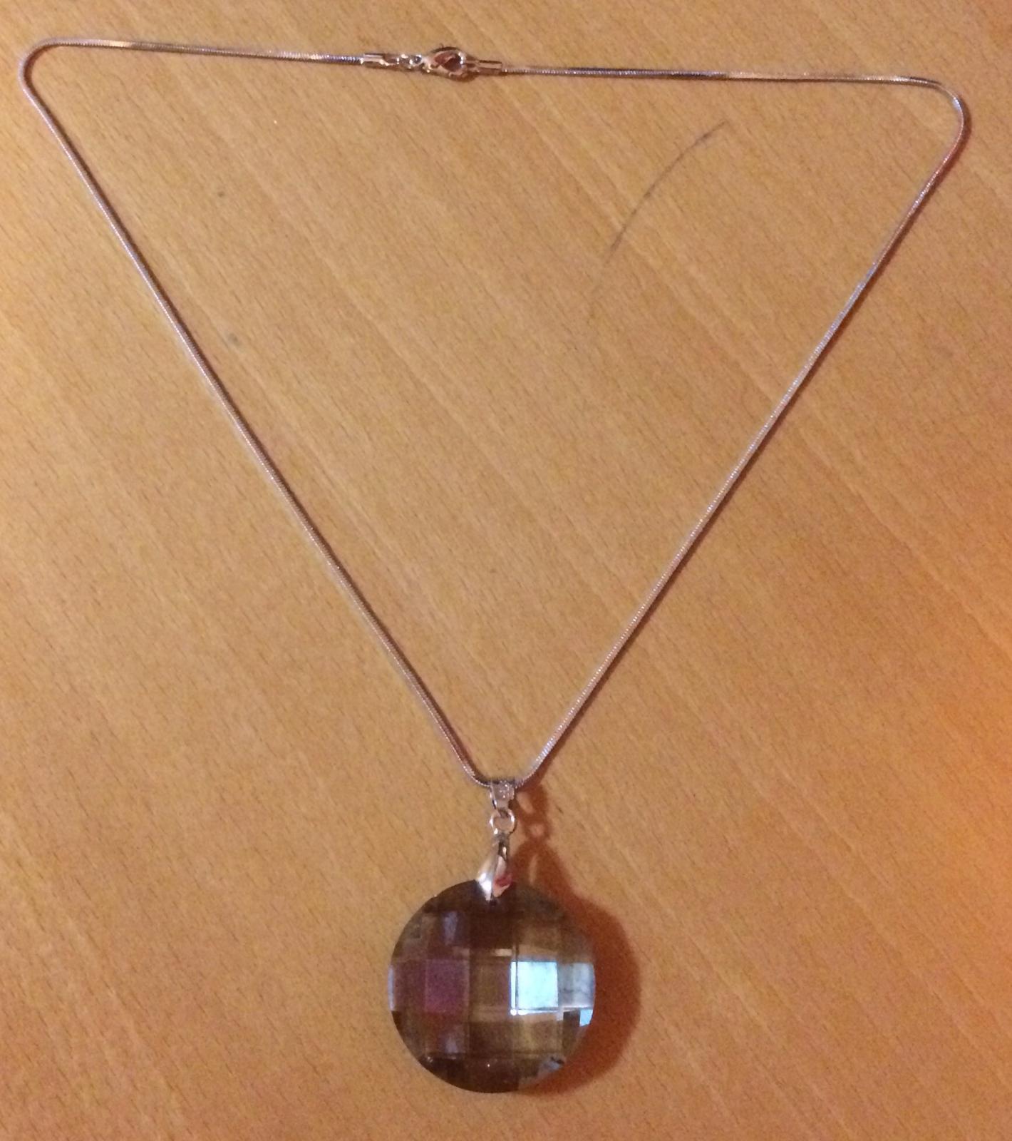 Náhrdelník s kameňom  - Obrázok č. 3