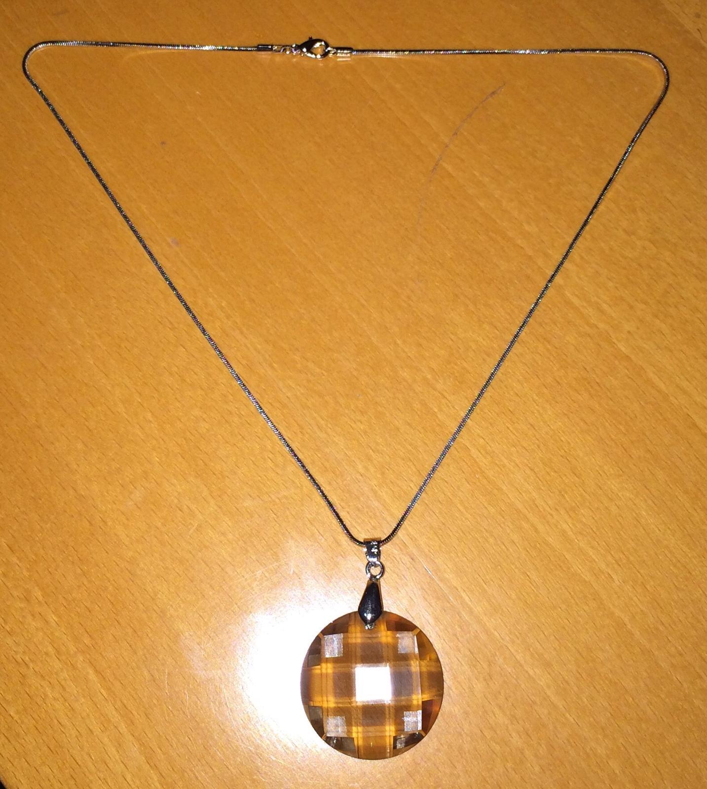 Náhrdelník s kameňom  - Obrázok č. 2