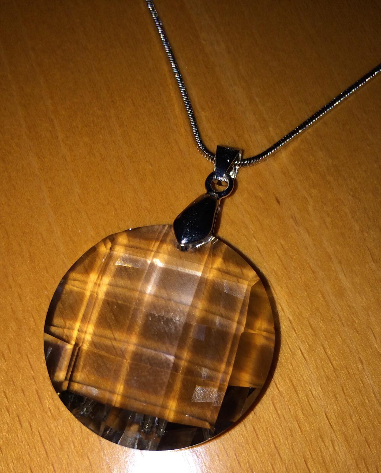 Náhrdelník s kameňom  - Obrázok č. 1