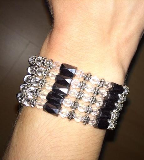 Magnetický náhrdelník - náramok - Obrázok č. 2