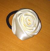 Svadobná ruža do vlasov,