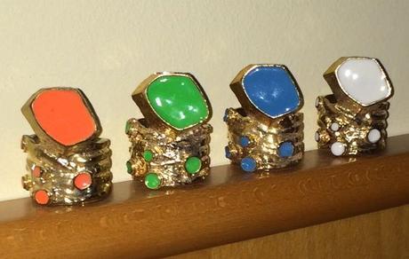 3 prstene Arty - cena spolu - Obrázok č. 1
