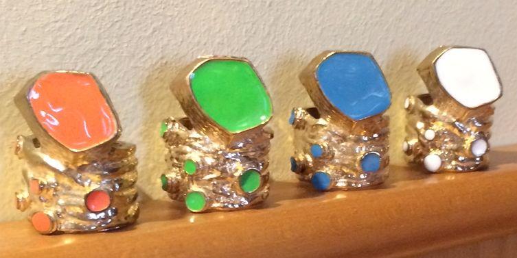 3 prstene Arty - cena spolu - Obrázok č. 2