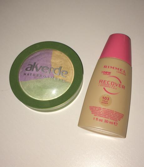 Rimmel make-up a Alverde púder - Obrázok č. 1