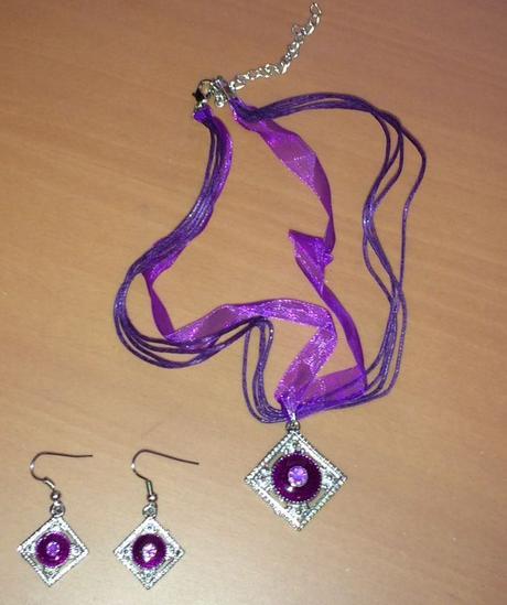 Set Náušnic a náhrdelníku - Obrázok č. 1