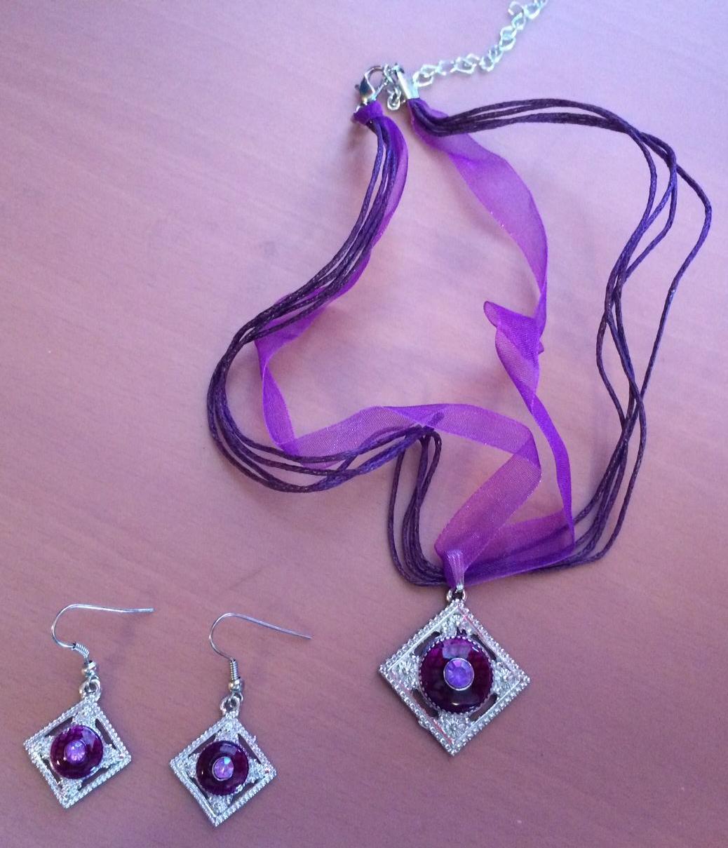 Set Náušnic a náhrdelníku - Obrázok č. 3