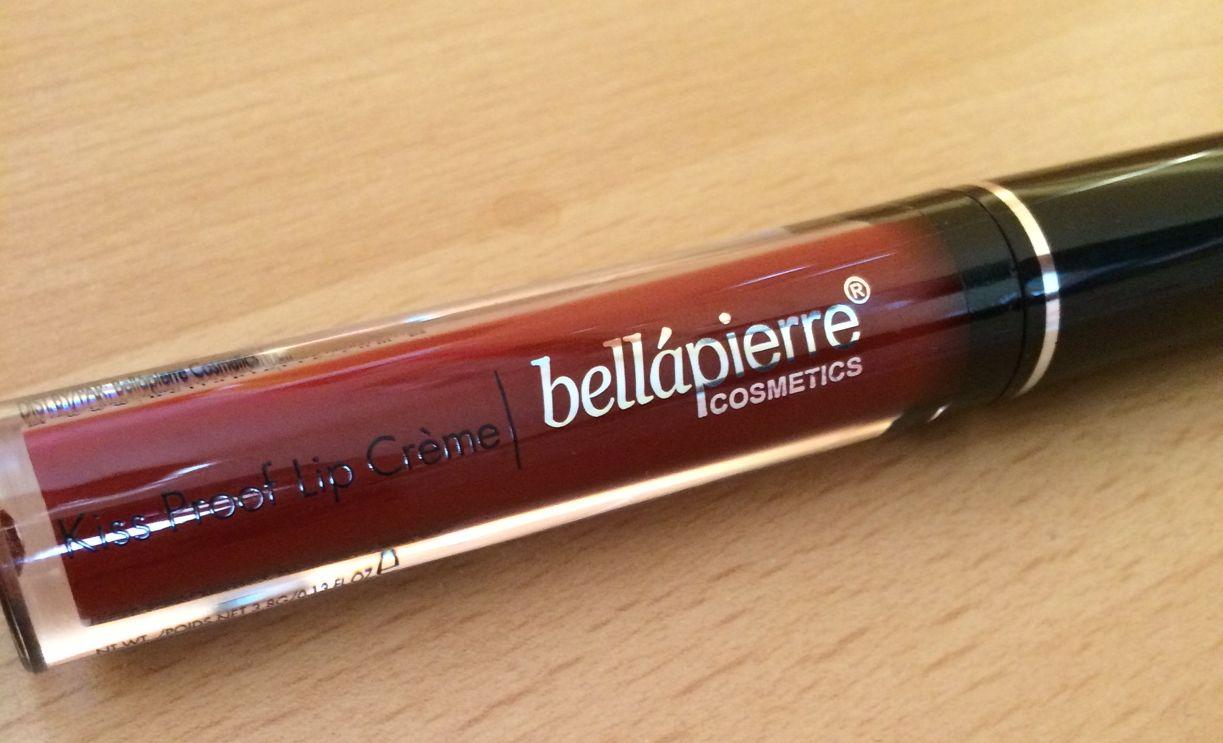 Bellapierre - červený matný rúž - Obrázok č. 1