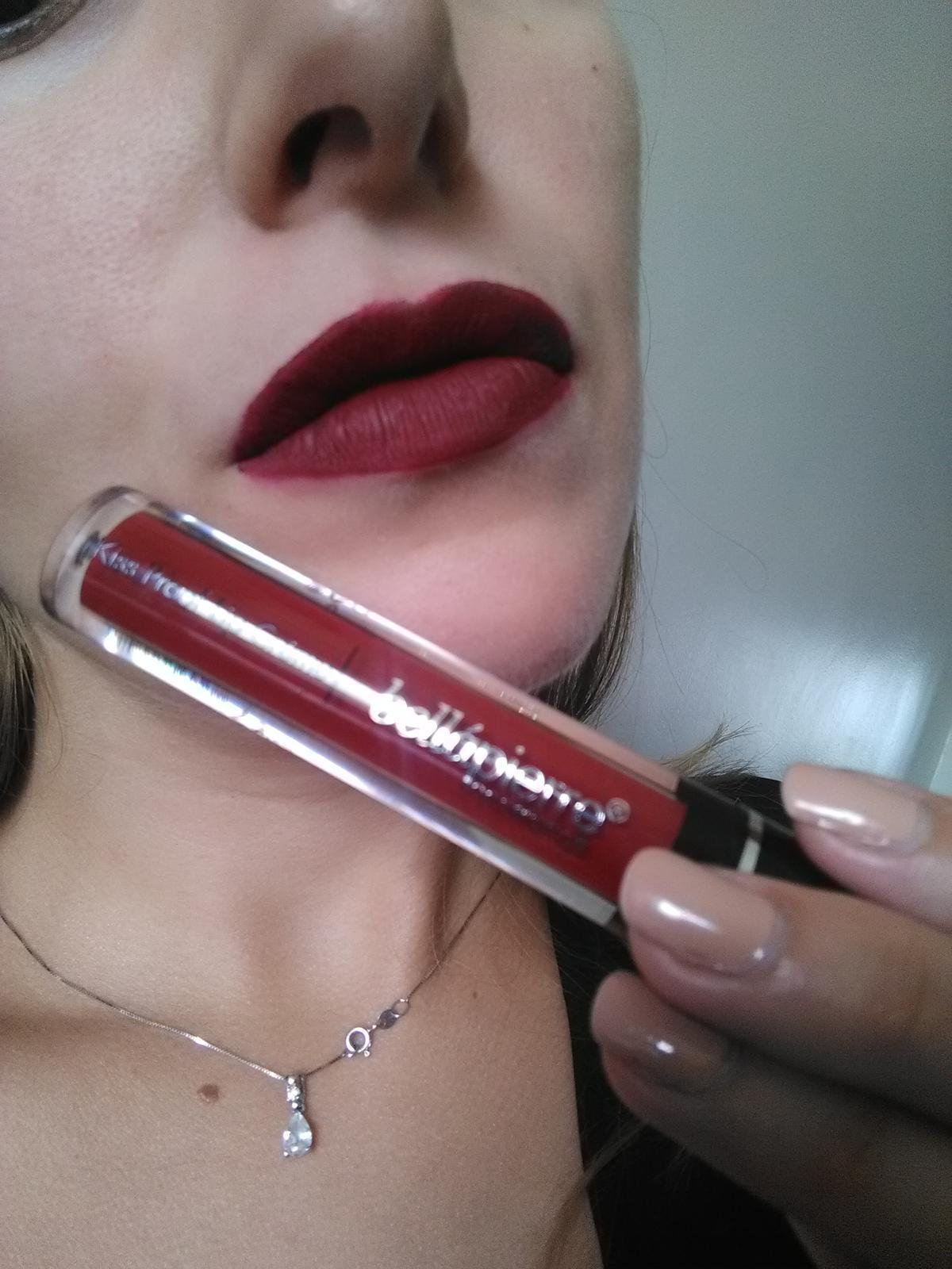 Bellapierre - červený matný rúž - Obrázok č. 3