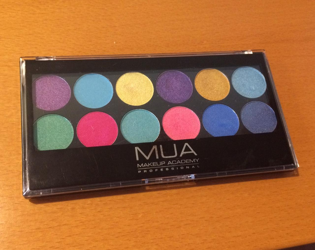 MUA - paleta 12 očných tieňov - Obrázok č. 1