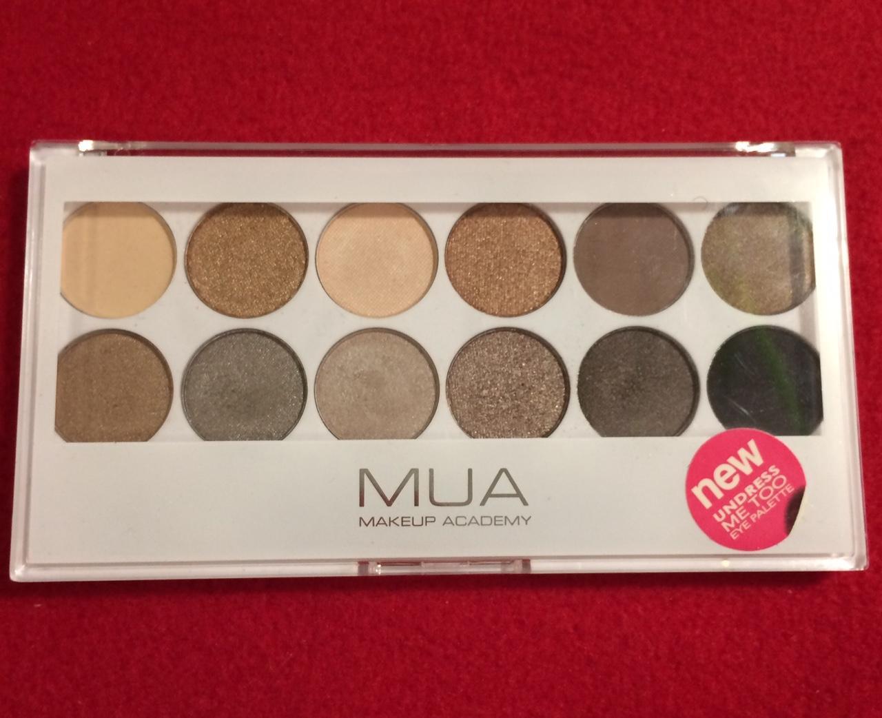 paleta 12 očných tieňov MUA - Obrázok č. 1