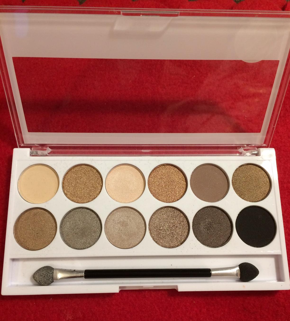 paleta 12 očných tieňov MUA - Obrázok č. 2