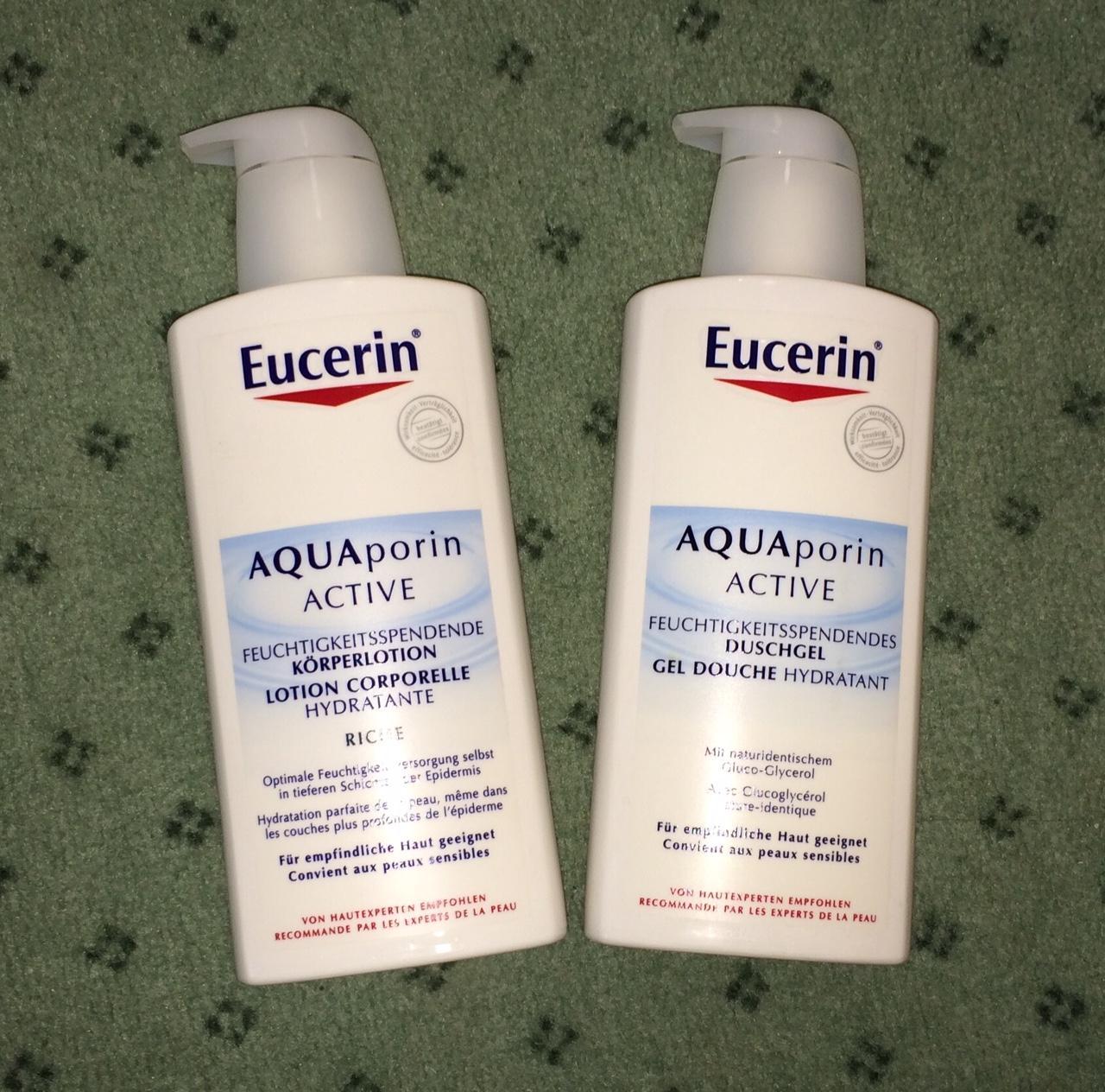 Eucerin - 800 ml sada sprcháč + mlieko - Obrázok č. 1