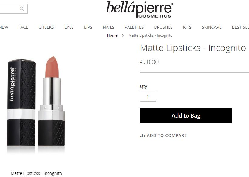 Bellapierre - matný minerálny rúž - Obrázok č. 4