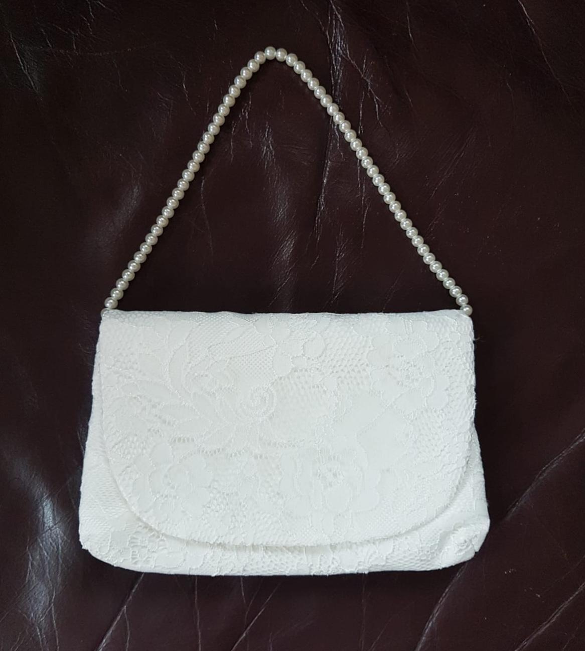 čipkovaná kabelka - Obrázok č. 2