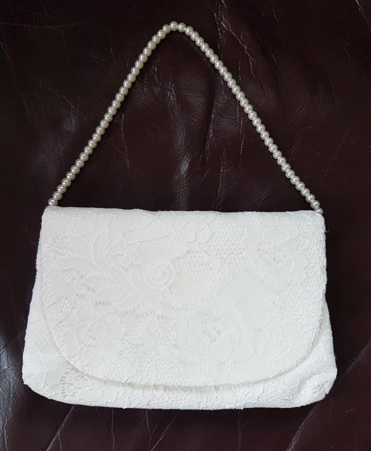 čipkovaná kabelka - Obrázok č. 3