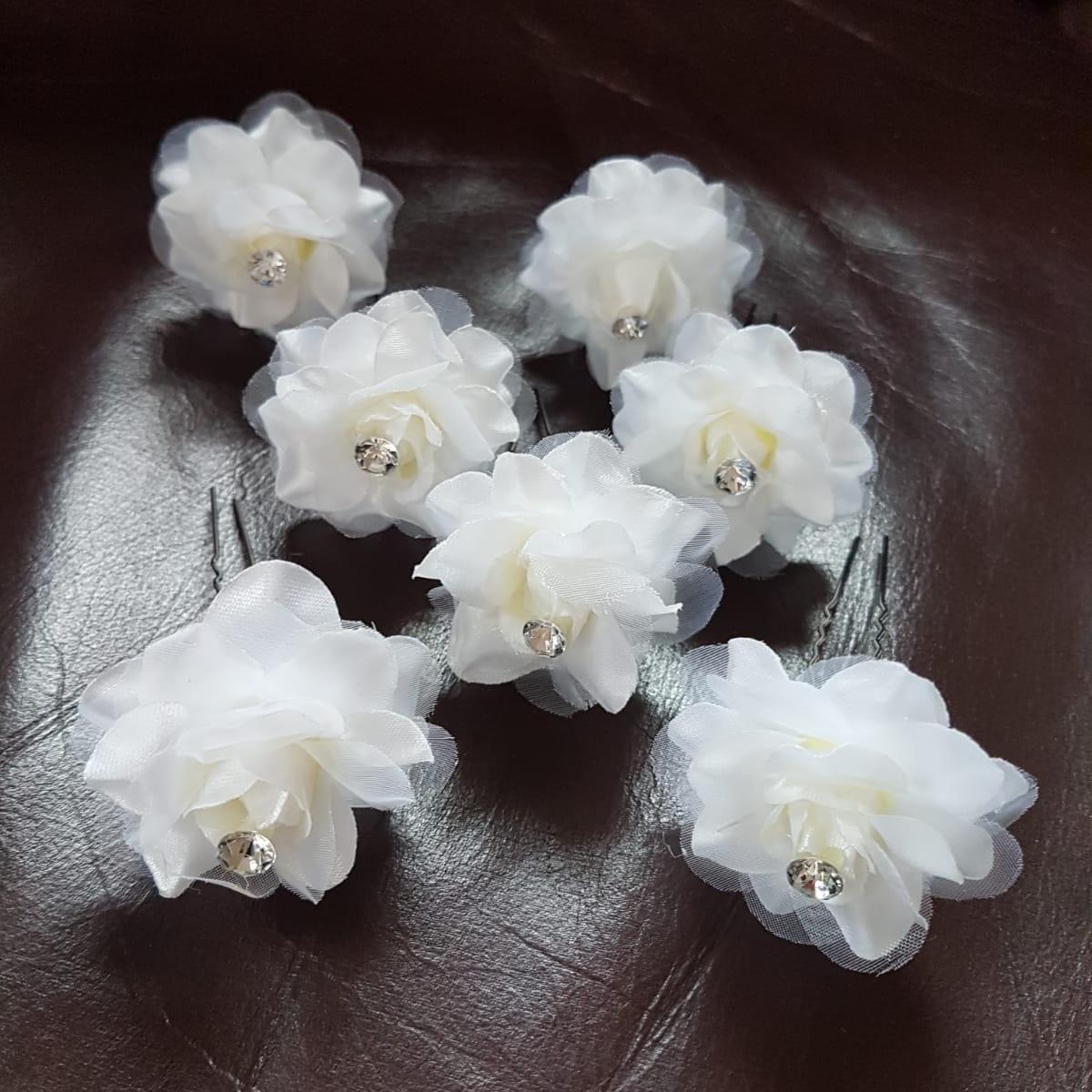 kvety do vlasov - 7 ks - Obrázok č. 3