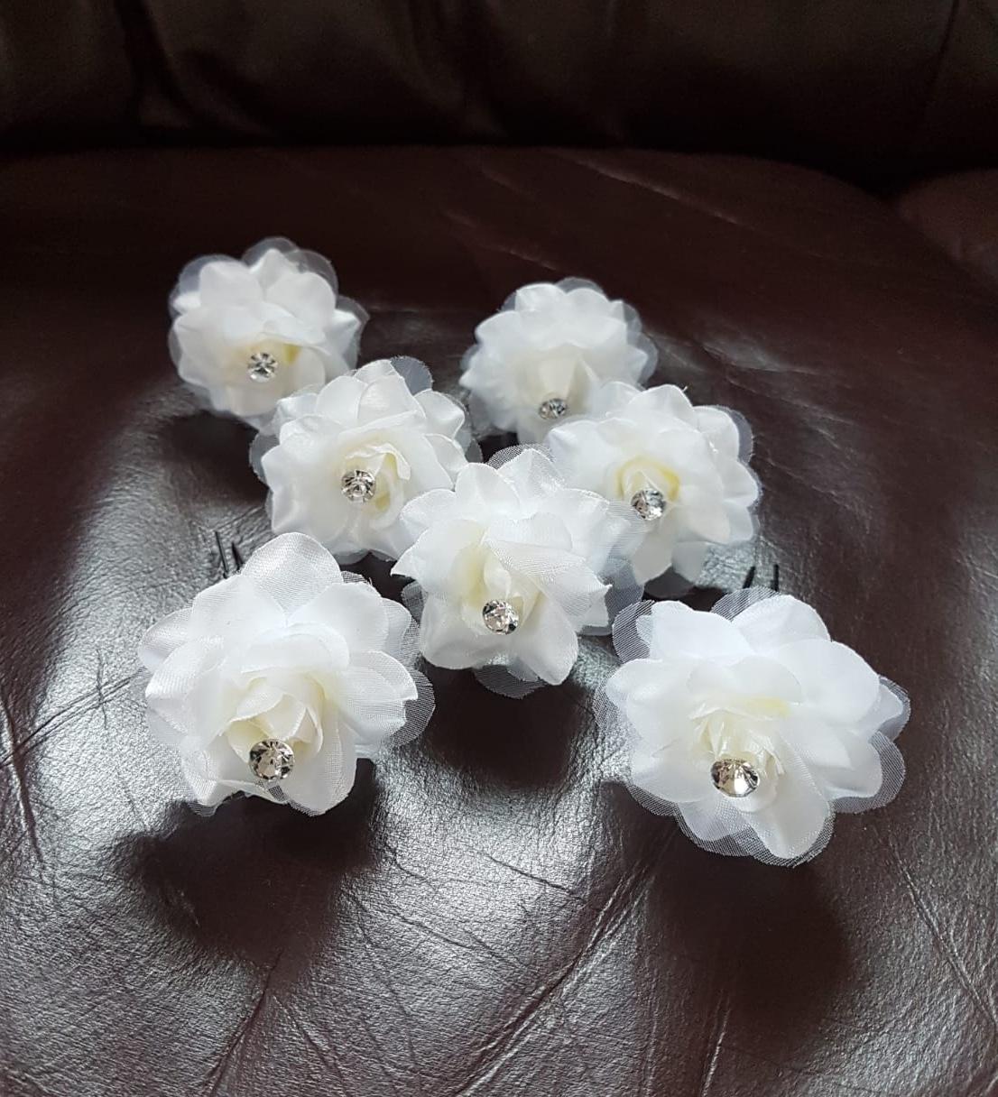 kvety do vlasov - 7 ks - Obrázok č. 1