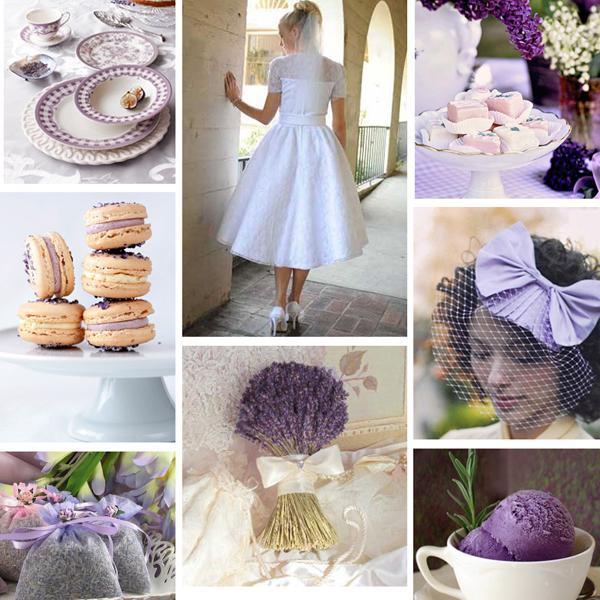 Inspirace - pro nevěsty levandulky :-)