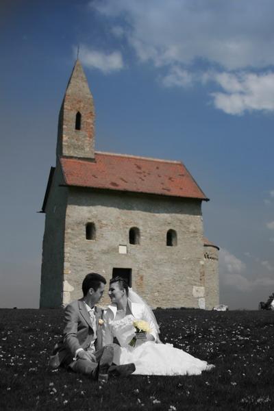 Zuzka{{_AND_}}Maťko - Drážovský kostolík... krásne miesto na fotenie