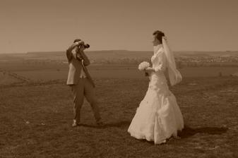 Ženích v akcii :)