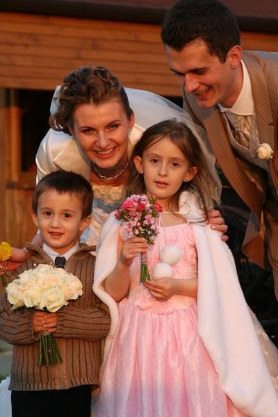 Zuzka{{_AND_}}Maťko - naši najmladší svadobčania
