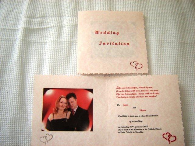 Janka a Shaun - Anglicka verzia pozvanok